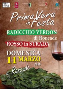 Domenica 11 Marzo - Radicchio Verdon e Rosso in Strada